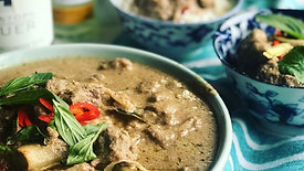 Aromatic Beef Braised in Coconut Cream & Ginger