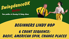 Lindy Hop Beginners Series 1 Class 1