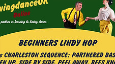 Lindy Hop Beginners Series 1 Class 3