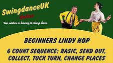 Lindy Hop Beginners Series 1 Class 8