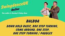 Balboa Beginners Class 3