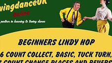 Lindy Hop Beginners Series 1 Class 2