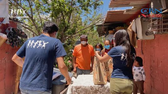En busca de alimento - La historia de Ramón Martinez y su familia