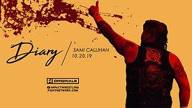 Diary: Sami Callihan at Bound For Glory
