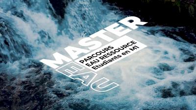 Master Eau Ressource Interview Master 1