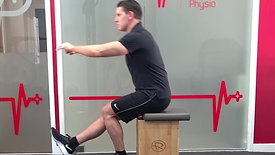 SL Box Squat