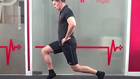 Iso Heel Raise Split Squat