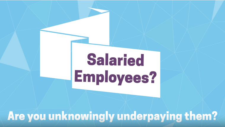 Salaried Employees - the 5 steps to compliance