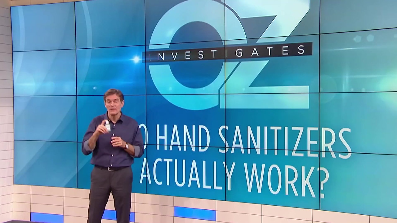 DR. OZ on ABC NEWS  exposes a test on national TV.