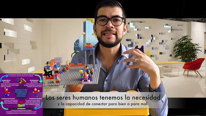 Curso Base de Liderazgo con LEGO Online