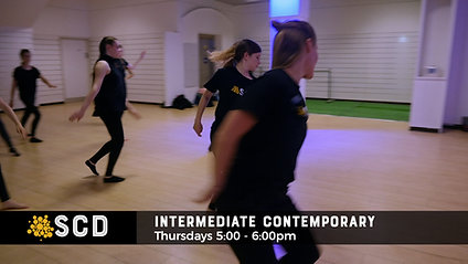 Sutton Community Dance Contemporary Intermediate Year 8+
