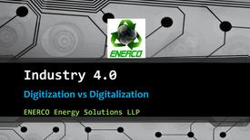 Industry 4.0 Enerco Digitization Digitalization