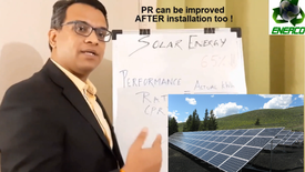 Solar Energy : PR above 75%?