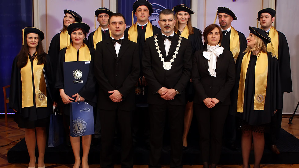 Effectus - first ever diploma ceremony