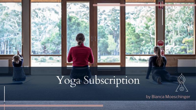 Yoga subscription