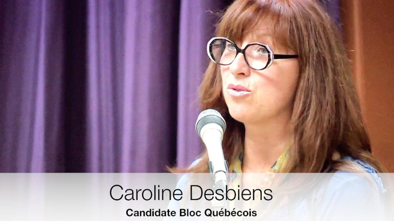 Caroline Desbiens, chez vous! Chez nous!