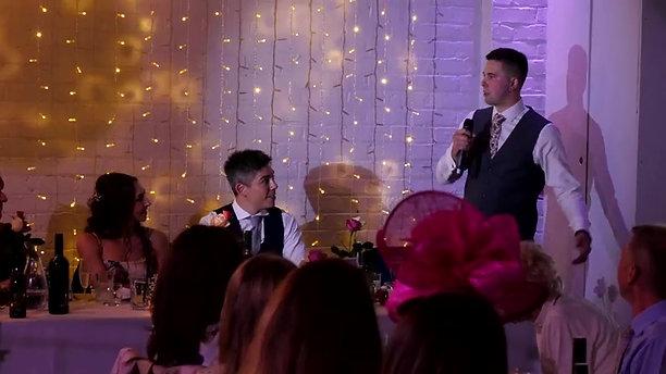 Hannah & Dave Gillet Wedding