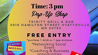 "Pop-Up Shop: ""Driven - Free Social Networking Event"""