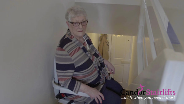 Candor Stairlifts  ... a lift when you need it most