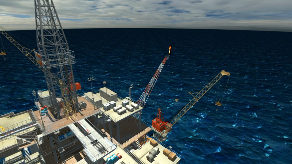 FRVR Oil & Gas Platform Concept
