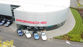 993 Celebrations at Porsche Centre Swindon
