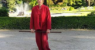 Qi Gong avec bâton de santé 2