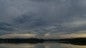 狭山湖の夕焼け  Sunset of Sayamako
