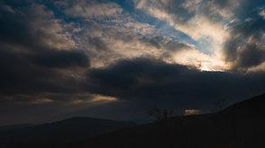 夕刻の栗駒山中腹  Late afternoon in hillside of Mt. Kurikoma