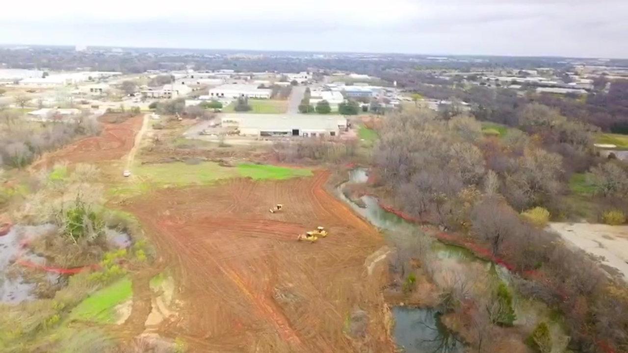 Trinity Parks Aerial
