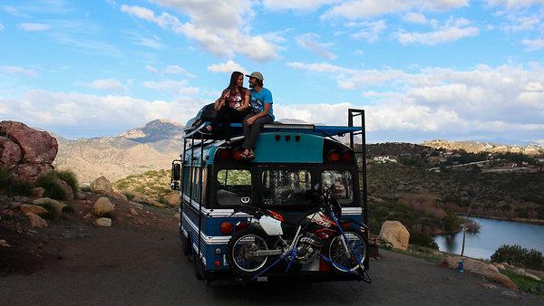 Behind the Blue Bus Adventure - Adventure Sports Network Interview