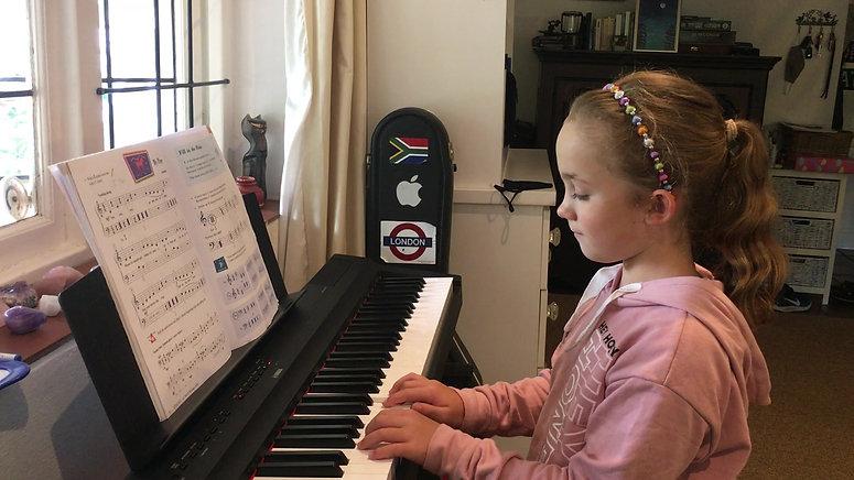 My pony (Piano Adventures, unit 9), March 2021