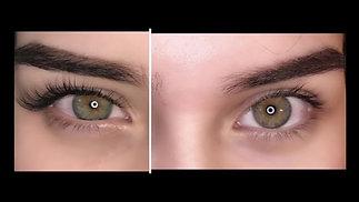 Classic Eyelash Extensions Transformation