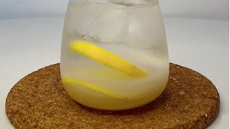 Sparkling Lemon Barley Juice