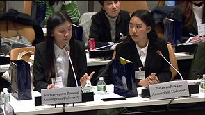 Arts Students Spoke at UN Headquarter for World Soil Day Celebration 2018