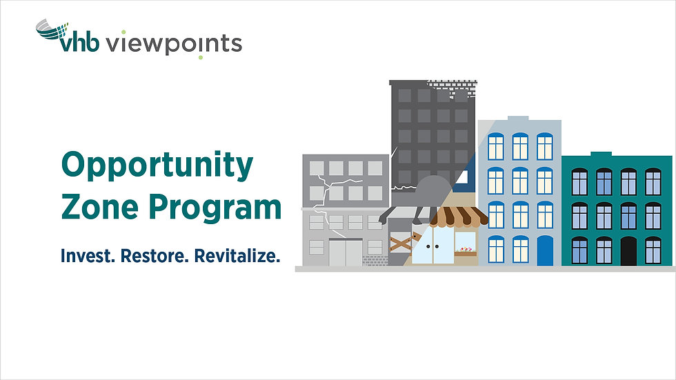 Opportunity Zone Program