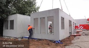 Modular 2 Bedroom Unit Construction_xvid