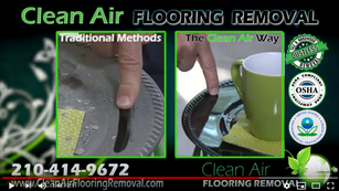 Clean Air Flooring Removal. DUSTLESS is the Difference!