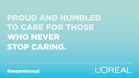 L'Oréal UKI: COVID-19 Solidarity Campaign