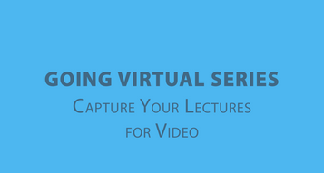 Capture Your Lectures for Video