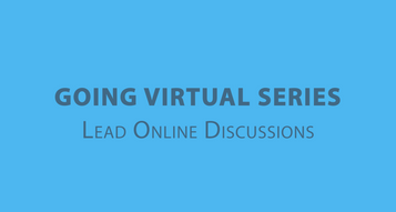 Lead Online Discussions