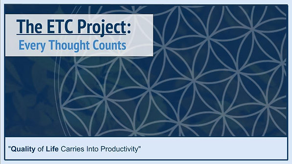 The Every Thought Counts Project