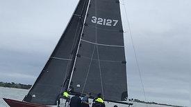 C.W. HOOD 32' Fireball sail