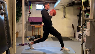 Basketball Lunges | Twist