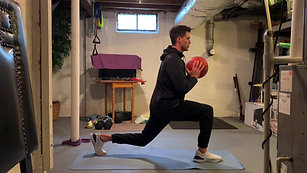 Basketball Lunges