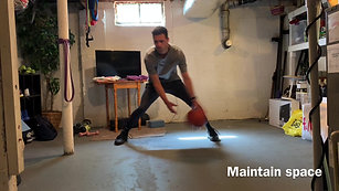 Stationary Ball-Handling: Double Cross + Back & Forth