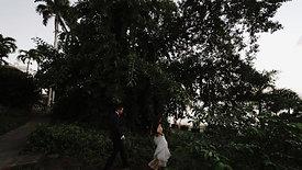 A Chic & Modern Casa blanca Museum Destination Wedding in Old San Juan