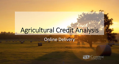 Agricultural Credit Analysis Promo