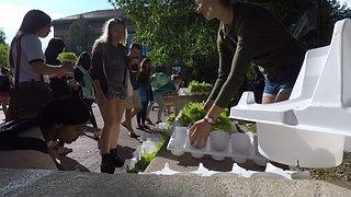 University of Michigan students love Proven Winners plants!