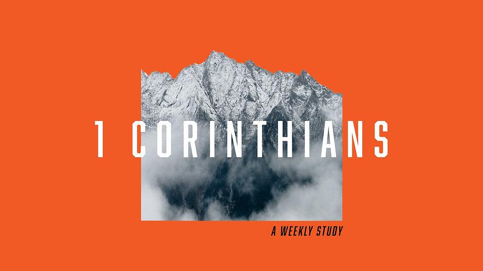 1 Corinthians Study