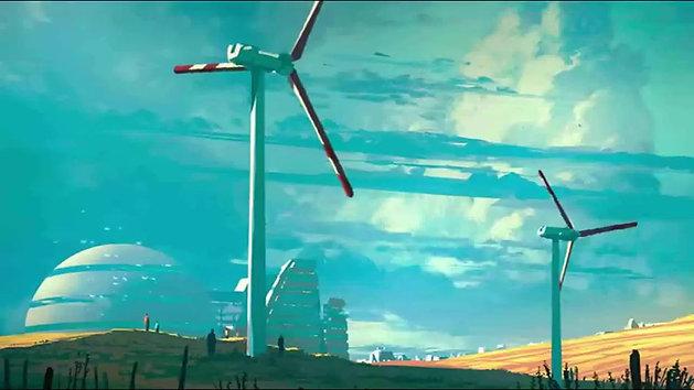 Le monde de demain (Version Instrumentale) Clip Officiel - Christophe Darras